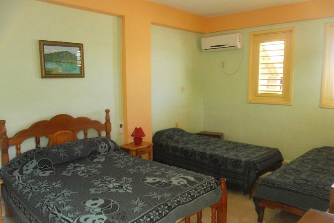 'Bedroom 1' Casas particulares are an alternative to hotels in Cuba.