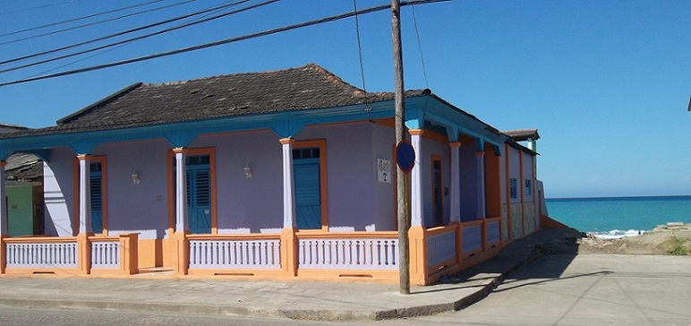 'Front view' Casas particulares are an alternative to hotels in Cuba.