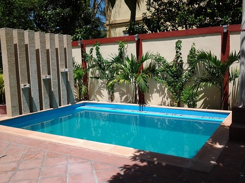 'Piscina' Casas particulares are an alternative to hotels in Cuba.
