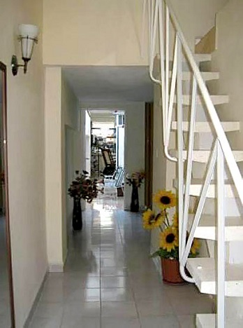 'Entrance hall' Casas particulares are an alternative to hotels in Cuba.