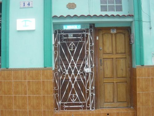 'Front door' Casas particulares are an alternative to hotels in Cuba.
