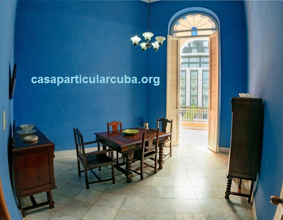 'Dining room and terrace' Casas particulares are an alternative to hotels in Cuba.