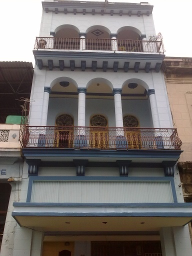 'Front-Building' Casas particulares are an alternative to hotels in Cuba.