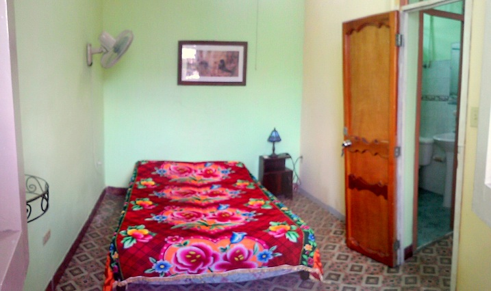 'Habitacion peque' Casas particulares are an alternative to hotels in Cuba.