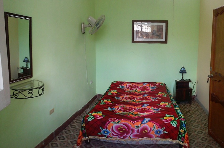 'Smallest bedroom ' Casas particulares are an alternative to hotels in Cuba.