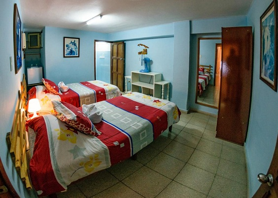 'Bedroom 2' Casas particulares are an alternative to hotels in Cuba.