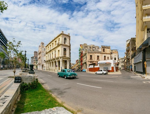'Prado avenue and Consulado street' Casas particulares are an alternative to hotels in Cuba.