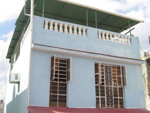 'House front and terrace on top' Casas particulares are an alternative to hotels in Cuba.