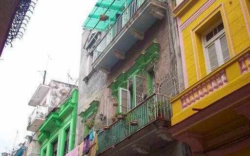 'Building' Casas particulares are an alternative to hotels in Cuba.