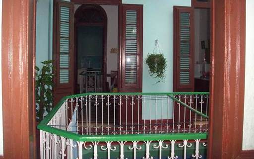 'Inner balcony' Casas particulares are an alternative to hotels in Cuba.