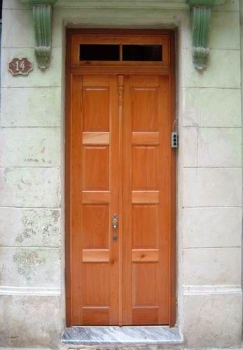 'Building front door'