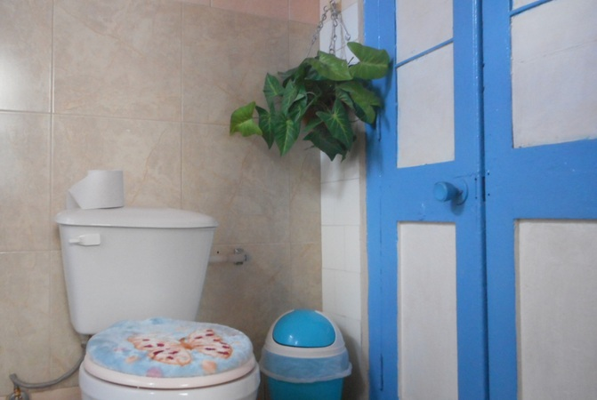 'Bathroom 4' Casas particulares are an alternative to hotels in Cuba.