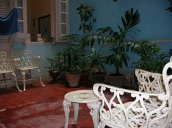 'Yard' Casas particulares are an alternative to hotels in Cuba.