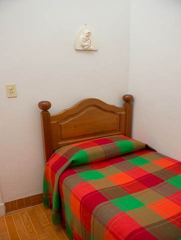 'Single bedroom' Casas particulares are an alternative to hotels in Cuba.