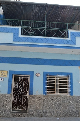 'Front of the house' Casas particulares are an alternative to hotels in Cuba.