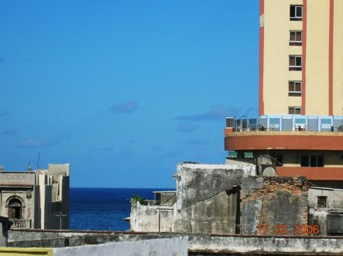 'view' Casas particulares are an alternative to hotels in Cuba.