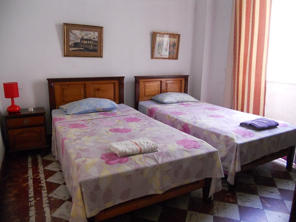 'Bedroom 2 ' Casas particulares are an alternative to hotels in Cuba.