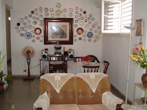 'Living & Dining room' Casas particulares are an alternative to hotels in Cuba.