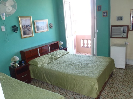 'Habitacion 2' Casas particulares are an alternative to hotels in Cuba.