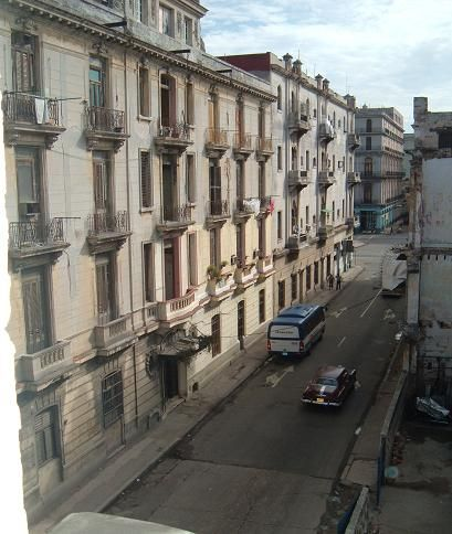 'Vista desde el Balcon' Casas particulares are an alternative to hotels in Cuba.