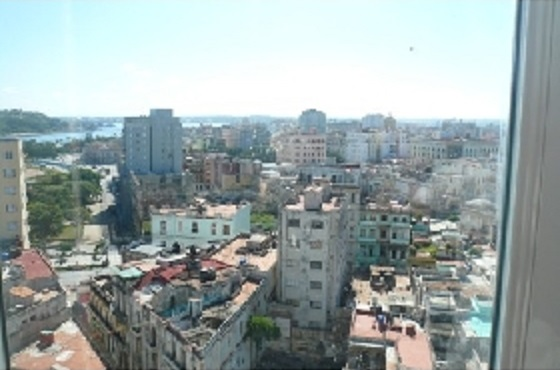'City view from the window' Casas particulares are an alternative to hotels in Cuba.