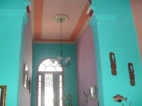 'Living Room Ceiling' Casas particulares are an alternative to hotels in Cuba.