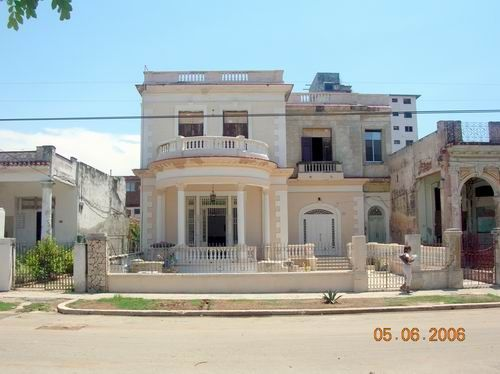 'Front' Casas particulares are an alternative to hotels in Cuba.