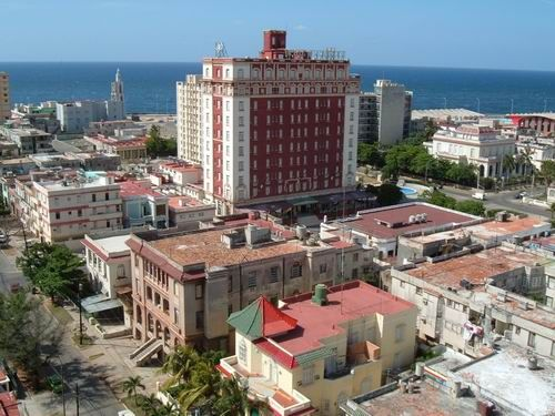 'View from Terrace' Casas particulares are an alternative to hotels in Cuba.