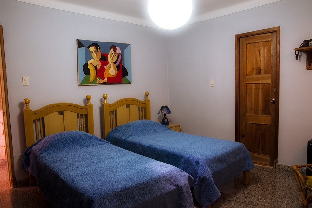 'Bedroom2' Casas particulares are an alternative to hotels in Cuba.