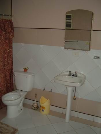 'Bathroom1' Casas particulares are an alternative to hotels in Cuba.