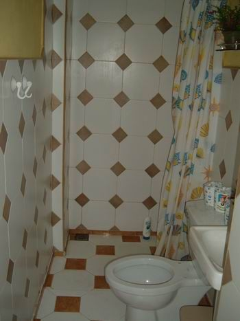 'Bathroom2' Casas particulares are an alternative to hotels in Cuba.
