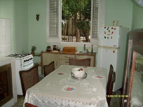 'Dining room and kitchen' Casas particulares are an alternative to hotels in Cuba.