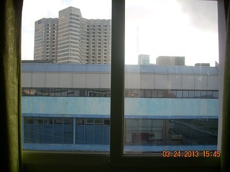 'View from the window of the living room'