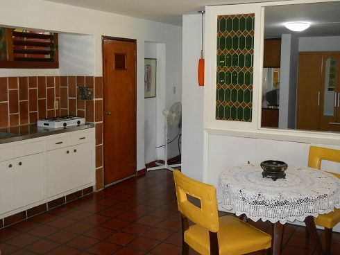'Kitchen and dining room' Casas particulares are an alternative to hotels in Cuba.