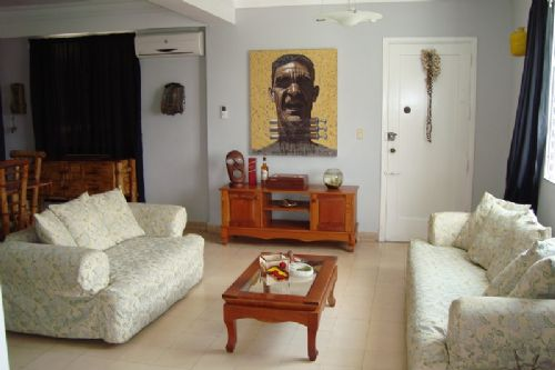 'Living 1' Casas particulares are an alternative to hotels in Cuba.