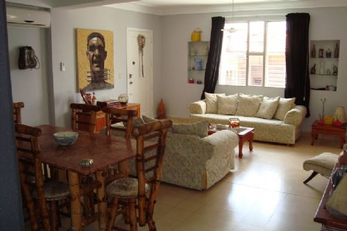 'Living 2' Casas particulares are an alternative to hotels in Cuba.