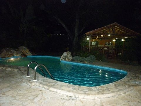 'Pool at night'