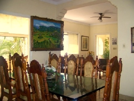 'Dining room' Casas particulares are an alternative to hotels in Cuba.