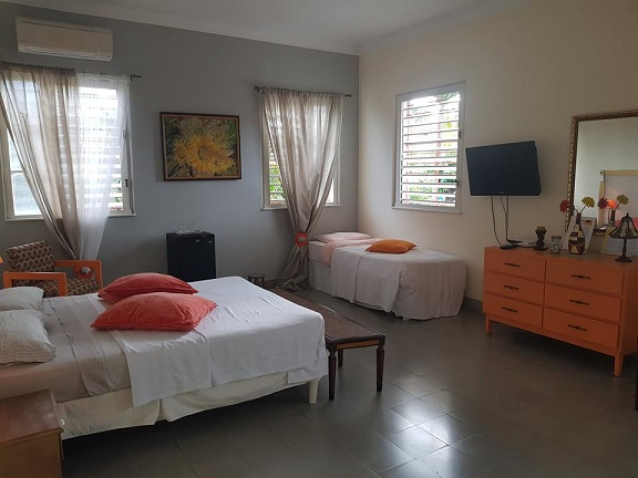 'Bedroom4' Casas particulares are an alternative to hotels in Cuba.