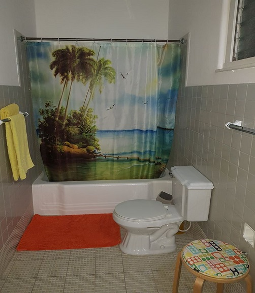 'Bathroom4' Casas particulares are an alternative to hotels in Cuba.