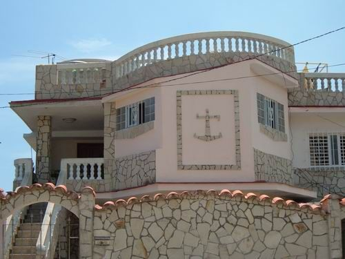 'Front view2' Casas particulares are an alternative to hotels in Cuba.