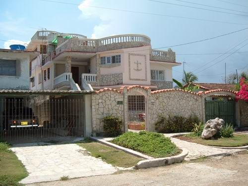 'Front view3' Casas particulares are an alternative to hotels in Cuba.