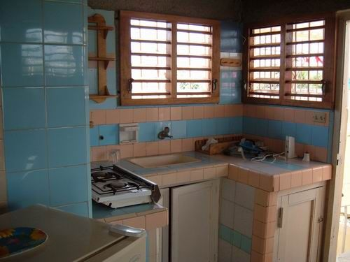 'Apartment Kitchen' Casas particulares are an alternative to hotels in Cuba.