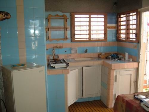 'Kitchen apartment 2' Casas particulares are an alternative to hotels in Cuba.