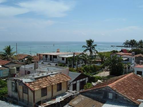 'View from terrace3' Casas particulares are an alternative to hotels in Cuba.