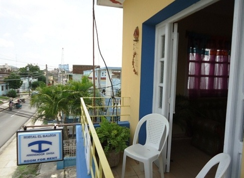 'Balcony' Casas particulares are an alternative to hotels in Cuba.