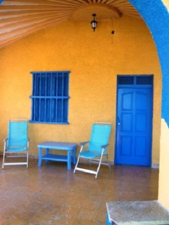 'Portal' Casas particulares are an alternative to hotels in Cuba.