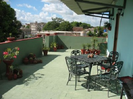 'Roof terrace' Casas particulares are an alternative to hotels in Cuba.