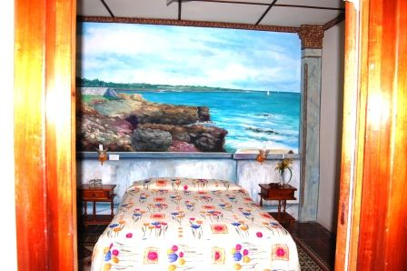 'Habitacion 1' Casas particulares are an alternative to hotels in Cuba.