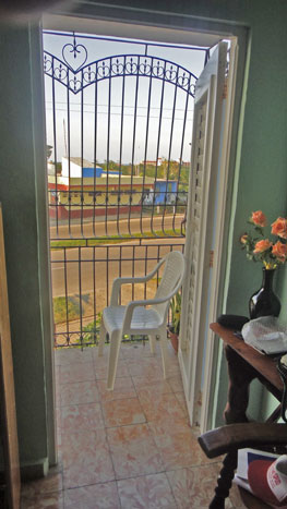'Balcon' Casas particulares are an alternative to hotels in Cuba.